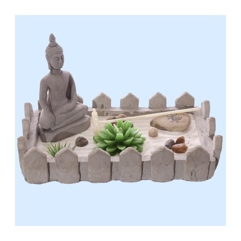 jardin zen du bouddha rectangulaire. Black Bedroom Furniture Sets. Home Design Ideas