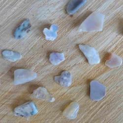 Petite Opale noble blanche ~ Créativité