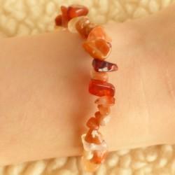 Bracelet Cornaline (chauffée !) ~ Dynamisme