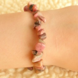Bracelet Rhodonite ~ Emotion