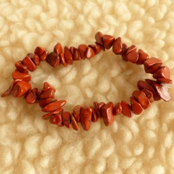 Bracelet Jaspe rouge ~ Vitalité
