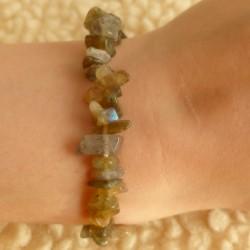 Bracelet Labradorite (qualité supérieure) ~ Protection douce