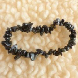 Bracelet Obsidienne flocon ~ Equilibre