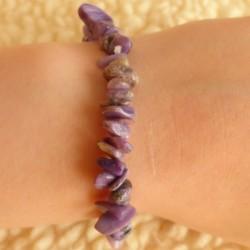 Bracelet Charoïte ~ Changement