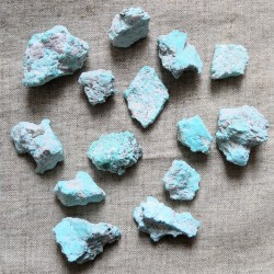Turquoise brute du Mexique (Los Campitos) ~ Joie de vivre