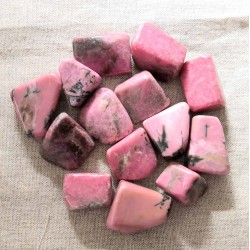 Rhodonite (qualité extra) ~ Empathie